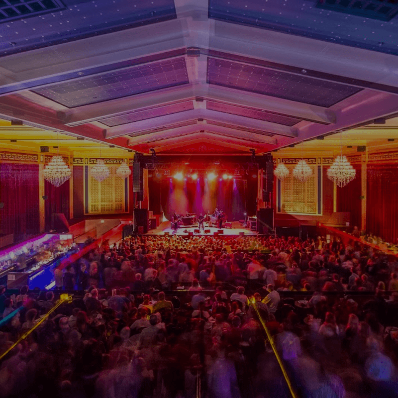 inside shot of theater